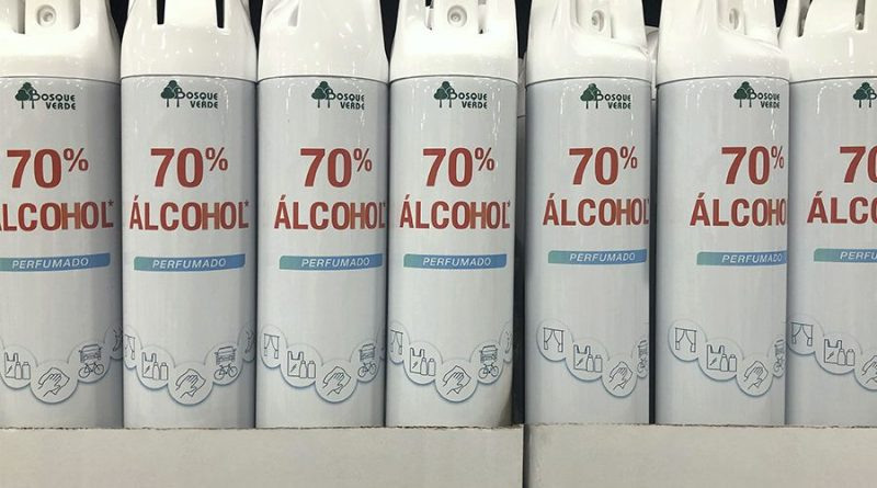 Alcohol perfumado Bosque Verde de Mercadona