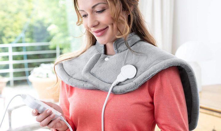 Manta térmica para hombros y cuello HP 622 de Medisana